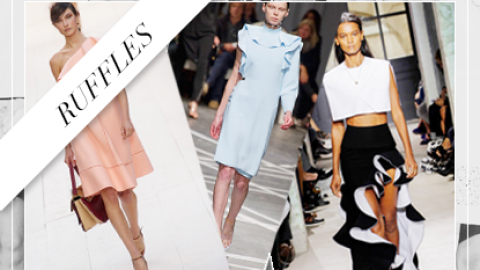 Spring Essential: Chic (And Affordable!) Ruffled Pieces | StyleCaster