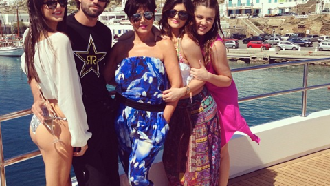 The Kardashians' Lavish Greece Vacation Is Costing At Least $200,000 a Week—And They're Miserable | StyleCaster