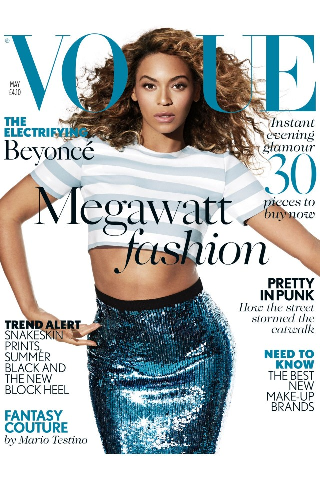 vogue Beyoncé On The Cover Of Vogue UK: 4 Interesting Quotes