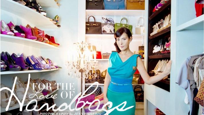 Meet The Ultimate Handbag Collector-Turned-Designer: Lori Levine