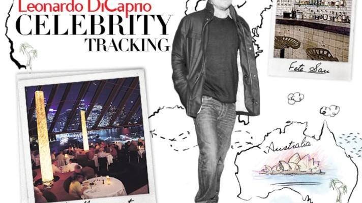 Celebrity Tracking: Where Leonardo DiCaprio Parties, Dates, and Eats Around the Globe