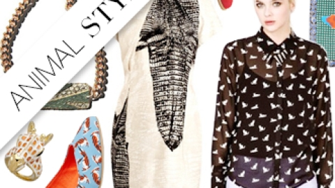 Shop it Right Now: Literal Animal Prints For Spring | StyleCaster