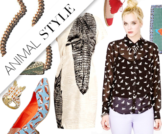 Shop it Right Now: Literal Animal Prints For Spring