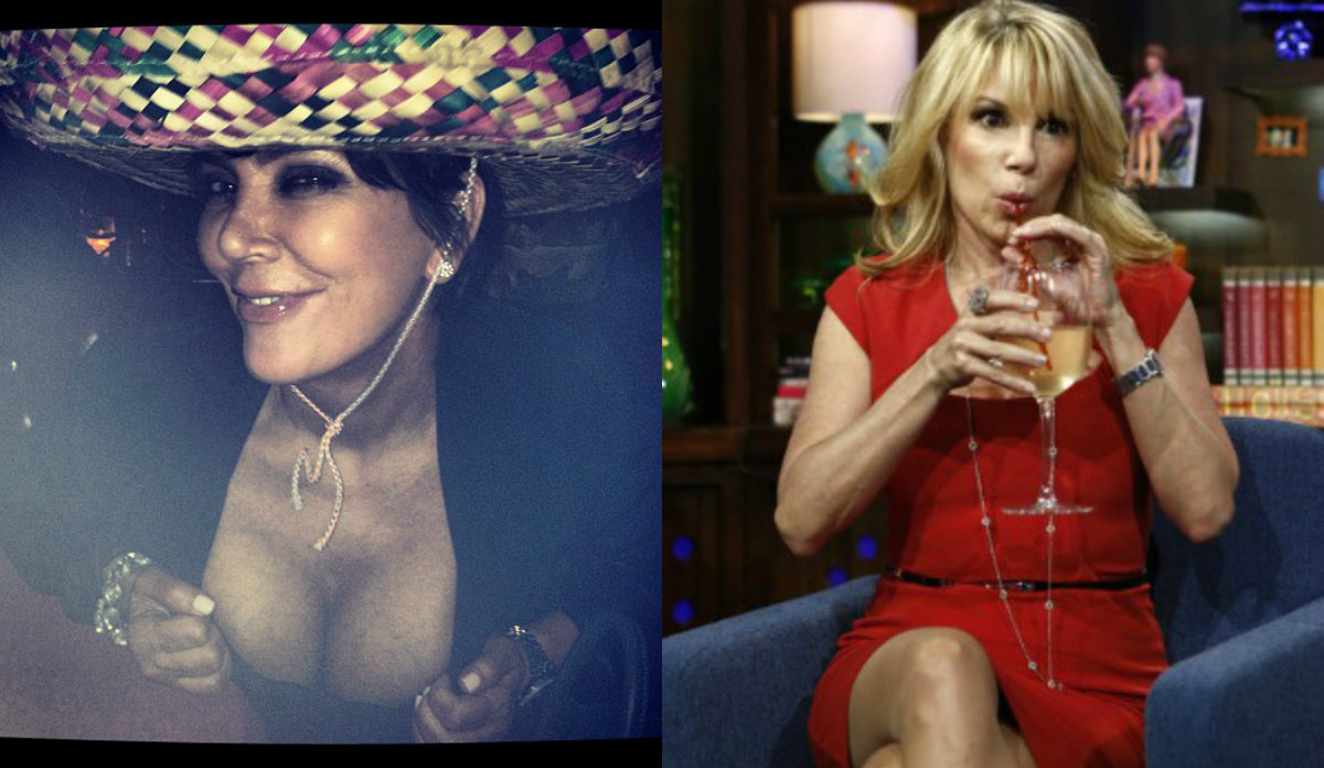 collage1213123 Anna Wintour Banned Kris Jenner and Real Housewives From Met Gala: Report