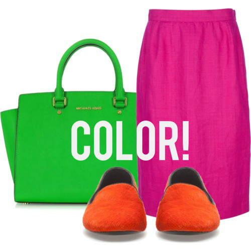 color1 4 Easy Ways To Add Color To Your Summer Work Wardrobe