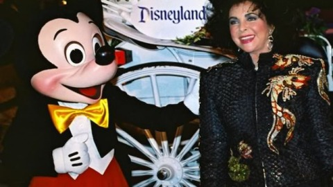 #Throwback Thursday: Elizabeth Taylor Spent Her 60th Birthday Partying with Disney Characters | StyleCaster