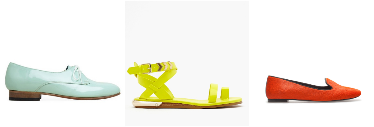 flats 4 Easy Ways To Add Color To Your Summer Work Wardrobe