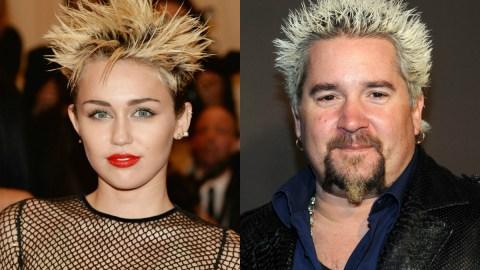 Miley Cyrus Does Her Best Guy Fieri; 4 More Met Gala Doppelgangers | StyleCaster