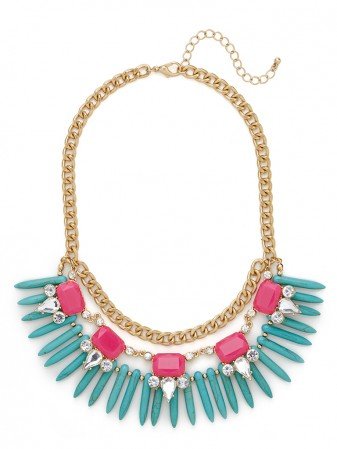 neonalaquabibbauble 8 Statement Necklaces That Scream Summer (And Cost Less Than $50)