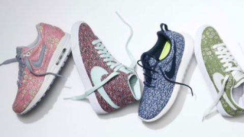 Nike Teams Up With Liberty London For a Line of Customizable Floral Sneakers   StyleCaster