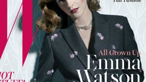 Emma Watson Looks Gorgeous On The Cover Of <em>W</em> Magazine In Head-To-Toe Louis Vuitton | StyleCaster