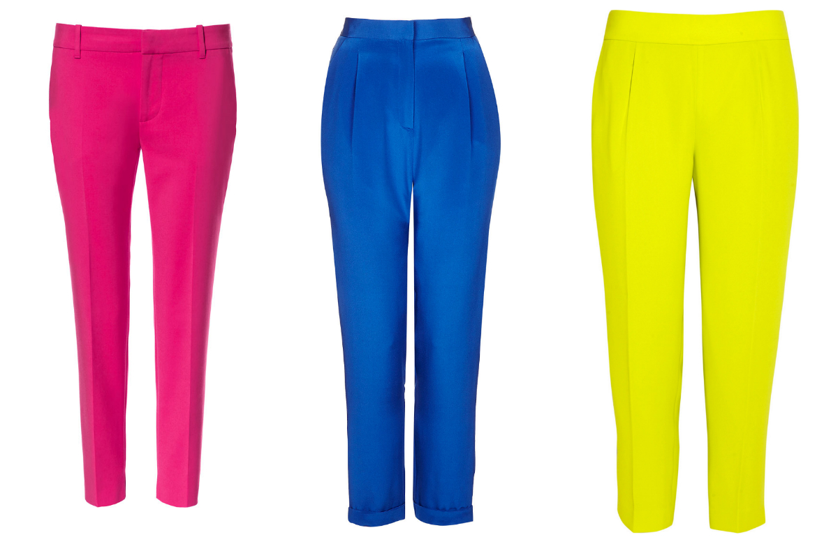 pants 4 Easy Ways To Add Color To Your Summer Work Wardrobe