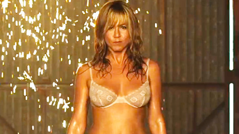 See Jennifer Aniston Pole Dance Wearing Lingerie in 'We're the Millers' Trailer   StyleCaster