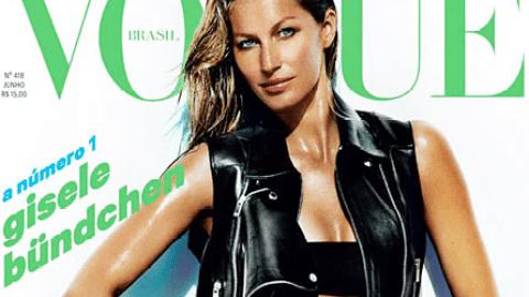 Gisele Bündchen Flaunts Hot Bikini Body on <em>Vogue</em> Cover Two Months After Giving Birth | StyleCaster