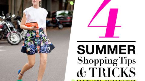 4 Summer Shopping Tips and Tricks Every Girl Should Know | StyleCaster