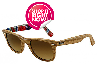 Shop It Right Now: Amp Up Your Cool Factor With 10 Pairs of Stylish Wayfarers
