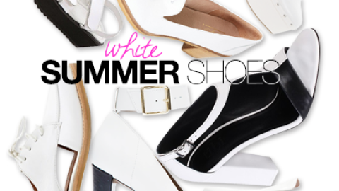 White Shoes For Summer: 25 Amazing Pairs To Buy Now | StyleCaster