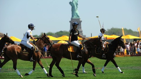 Stomping the Divots With Matthew McConaughey: Inside the 6th Annual Veuve Clicquot Polo Classic | StyleCaster