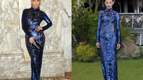 Jennifer Lopez Wears the Same Sequined Tom Ford Dress as Liberty Ross | StyleCaster
