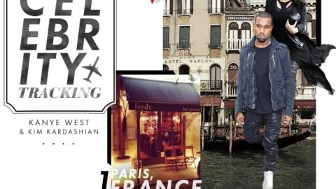 Celebrity Tracking: Where Kim Kardashian and Kanye West Shop, Dine, and Stay Around the Globe   StyleCaster