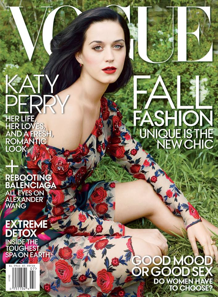 524483 original Katy Perrys First <em>Vogue</em> Cover is Here