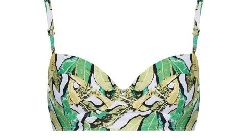 Want: A Retro High-Waist Bikini Set In A Fun Summer Print | StyleCaster