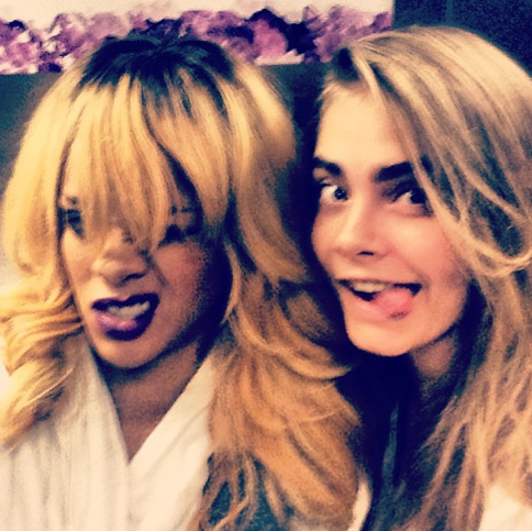 carariri Report: Cara Delevingne Forced To Choose Between BFFs Rihanna and Rita Ora
