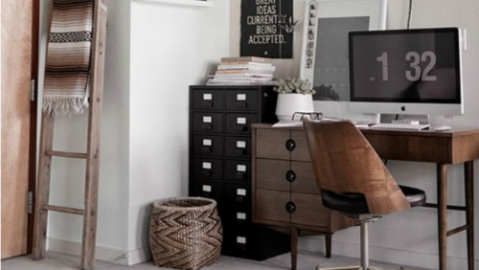 15 Pinterest Pinboards for Decorating Ideas for Home Offices | StyleCaster