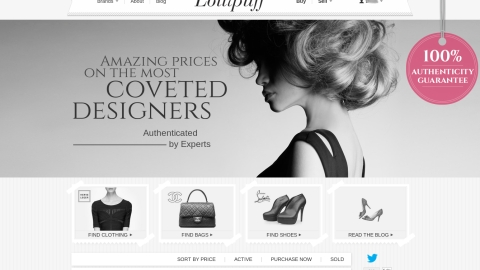 A Site to See: Lollipuff Makes It A Breeze To Shop Authentic Pre-Owned Designer Goods | StyleCaster