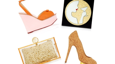 Stuff We Love: Charlotte Olympia and Veuve Clicquot Collaborate on Champagne Inspired Accessories | StyleCaster