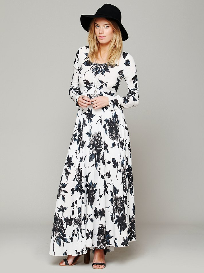 maxi1 Floral Maxi Dresses: 5 Gorgeous Styles That Cost Less Than $150