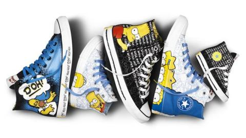 OMG: The Simpsons Are On a New Line of Converse Sneakers | StyleCaster
