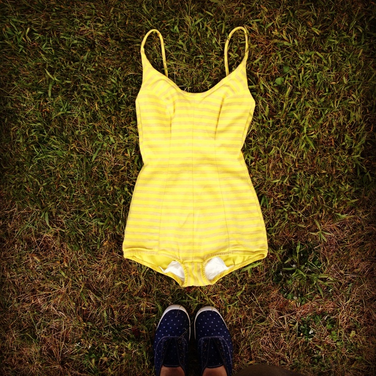 yellowbathingsuit How To Care For Every Item In Your Closet: 101 Tips