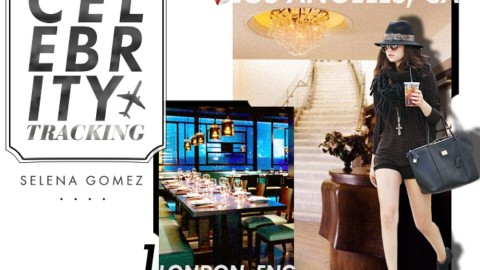 Celebrity Tracking: Where Selena Gomez Shops, Dines, and Dates Around the World   StyleCaster