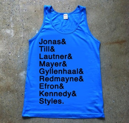 This Controversial Tank Top Calls Out Taylor Swifts Ex Boyfriends