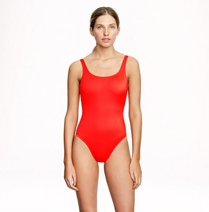 how to look thinner bathing suit