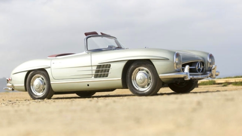 On the Auction Block: A 1963 Mercedes Roadster and Notes From Einstein | StyleCaster