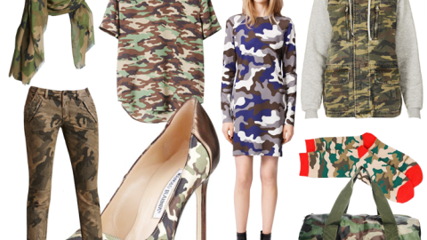 Trend To Try: Cool Camouflage Pieces To Buy (And Wear) Now | StyleCaster