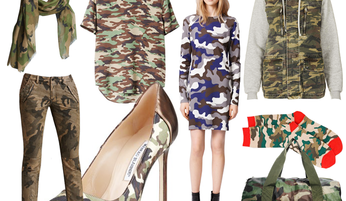 Trend To Try: Cool Camouflage Pieces To Buy (And Wear) Now