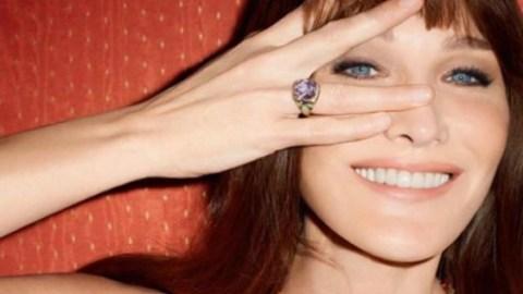 Carla Bruni-Sarkozy Starring In Bulgari's New Ad Campaign | StyleCaster