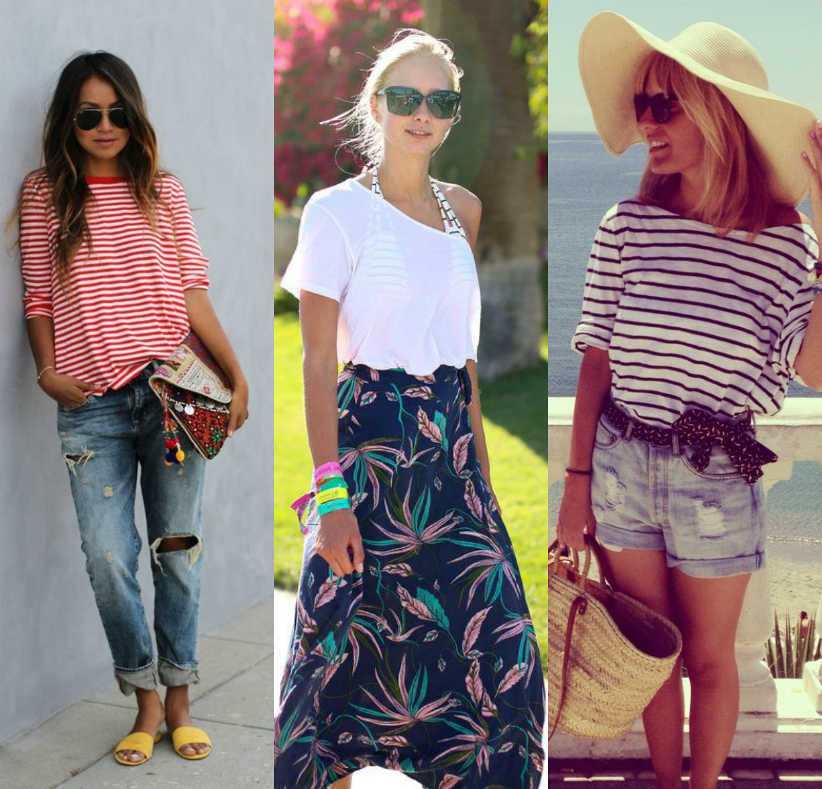 collage2 12 Summery Outfits To Copy This July Fourth (And Beyond!)