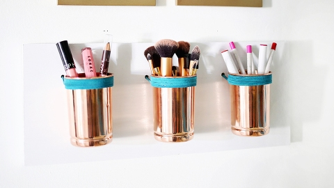 10 Easy DIY Ways to Store Your Makeup Without Breaking the Bank | StyleCaster