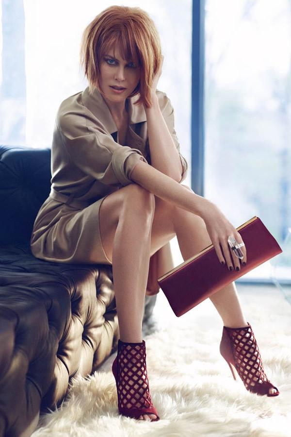 jimmy choo 1 Nicole Kidman Looks Unrecognizable in New Jimmy Choo Campaign