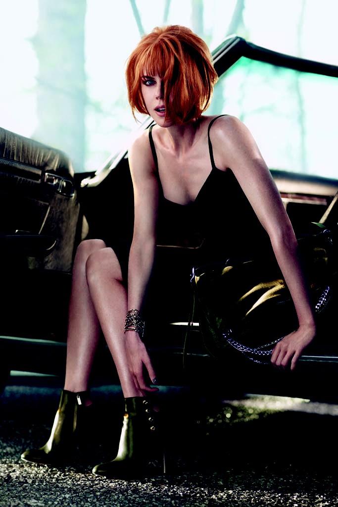 jimmy choo 2 Nicole Kidman Looks Unrecognizable in New Jimmy Choo Campaign