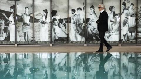 Stuff We Love: Karl Lagerfeld Designs a Hotel Pool In Monaco | StyleCaster
