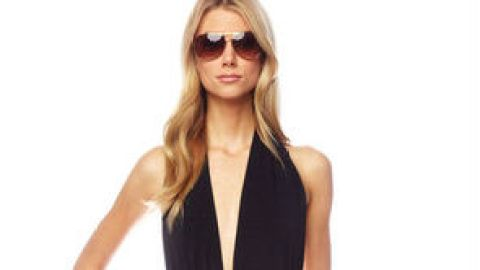 Want: A Sexy Black Bathing Suit-Dress Hybrid By Michael Kors | StyleCaster