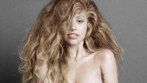 Lady Gaga's Back, And She's Naked: See Her New Photo From <em>V</em> Magazine | StyleCaster