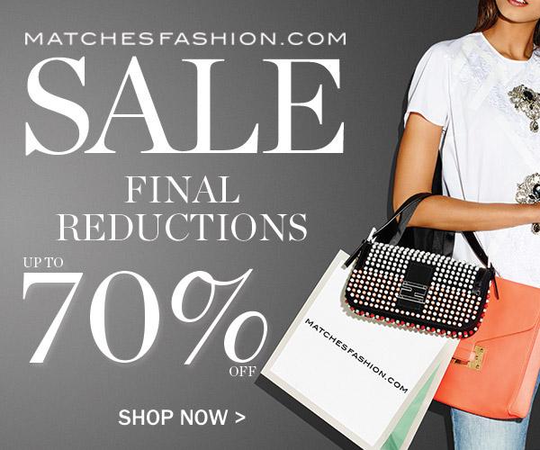 matches fashion sale