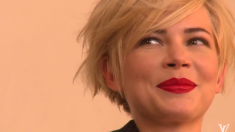 Video: Behind The Scenes of Michelle Williams' Shoot For Louis Vuitton | StyleCaster