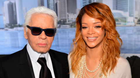 Rihanna Goes Braless, Shows Off Massive Tattoo at the Chanel Couture Show | StyleCaster
